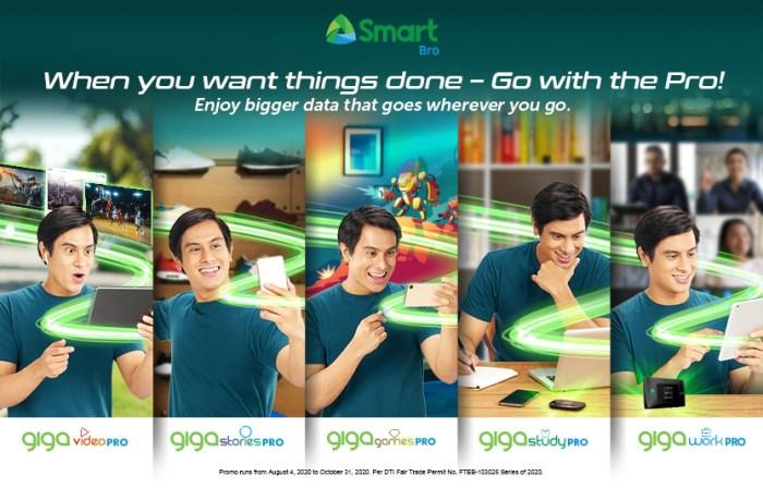 Smart Giga Pro for Smart Bro Promo