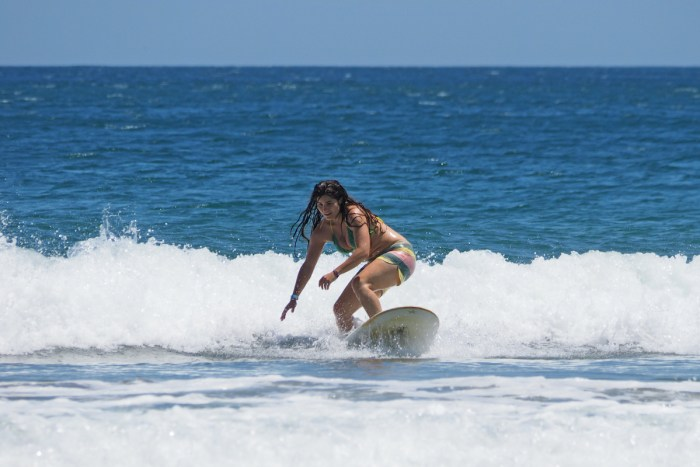 Surfing in Nicaragua photo via Depositphotos