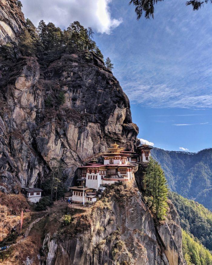 Taktsang Monastery - Tigers Nest Bhutan by Rahul Viswanath via Unsplash
