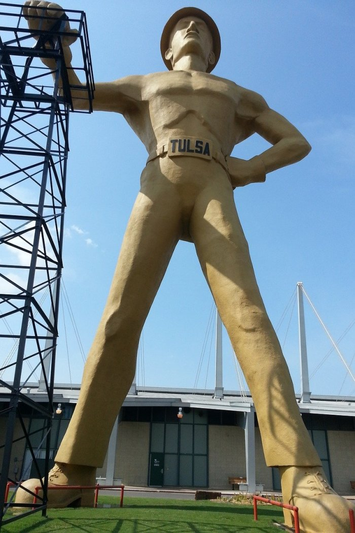 Golden Driller - Things to do in Tulsa