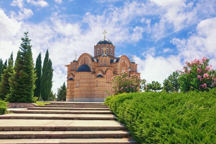 Gracanica Monastery photo via Depositphotos