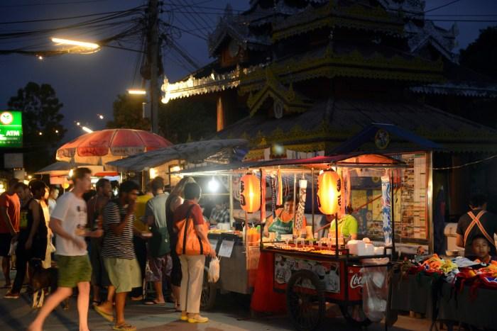 Depositphotos via the night market in the image of Pie Thailand