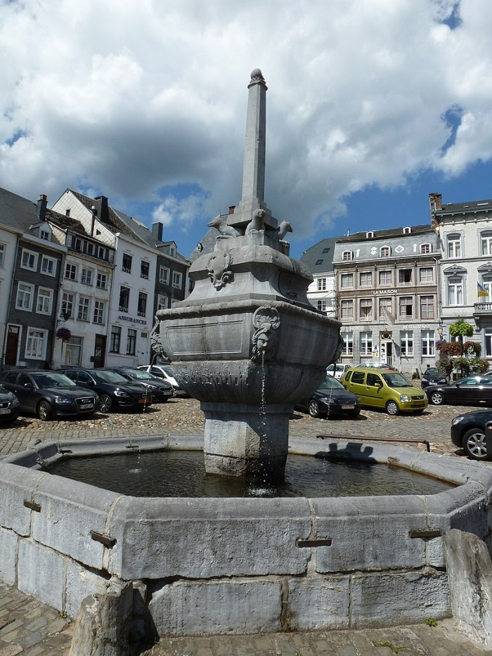Place Saint-Remacle Stavelot by Promenneuse7 via Wikipedia CC