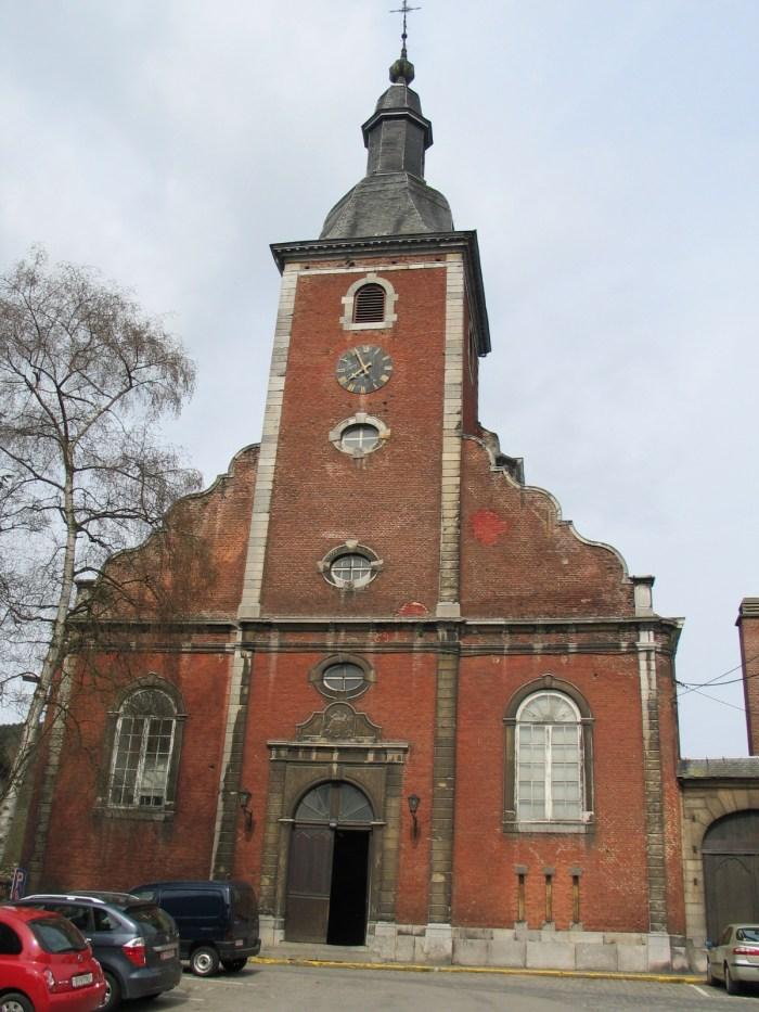 Saint Sebastian Church in Stavelot by Paul Hermans via Wikipedia CC