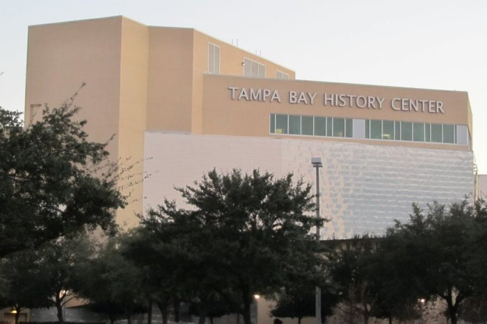 Tampa Bay History Center by Christopher Hollis via Wikipedia CC