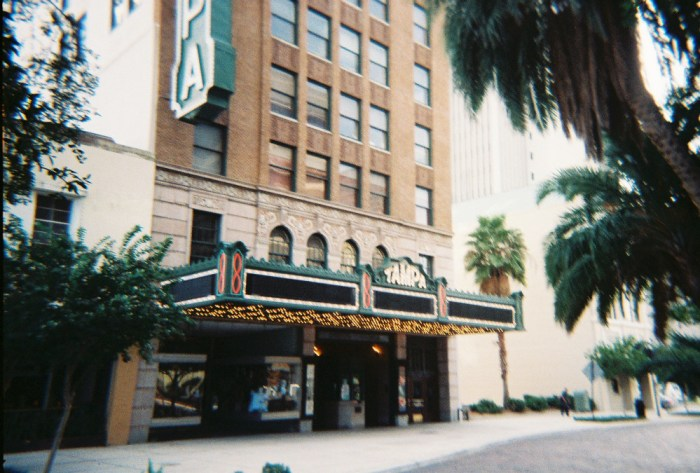 Tampa Theater by Ebyabe via Wikipedia CC