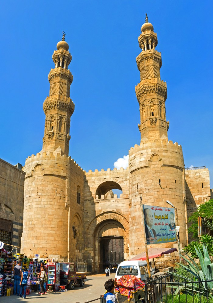 The Bab Zuweila Gates photo via Depositphotos