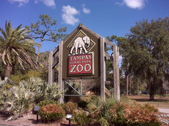 ZooTampa at Lowry Park by Tampags via Wikipedia CC