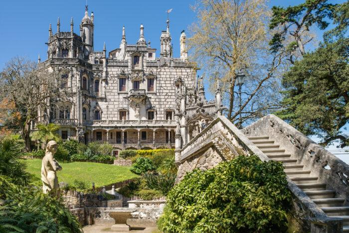 Quinta da Regaleira in Sintra photo via Depositphotos