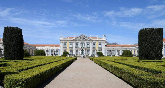 The Palace of Queluz by Alvesgaspar via Wikipedia CC
