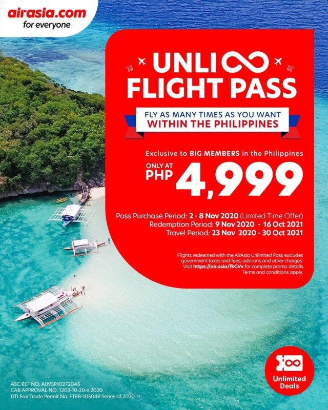 airasia UNLI Flight Pass