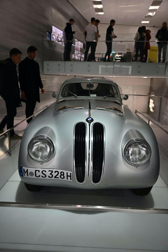 Some classic cars inside BMW Museum