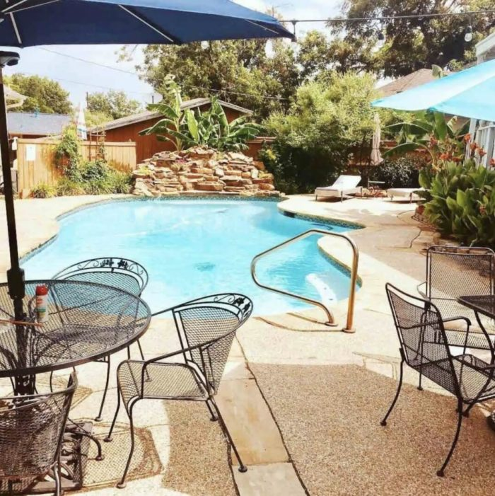 Airbnb in fort worth with pool