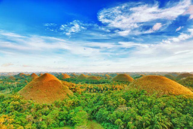 Chocolate Hills - Bohol Online Sale photo via Depositphotos