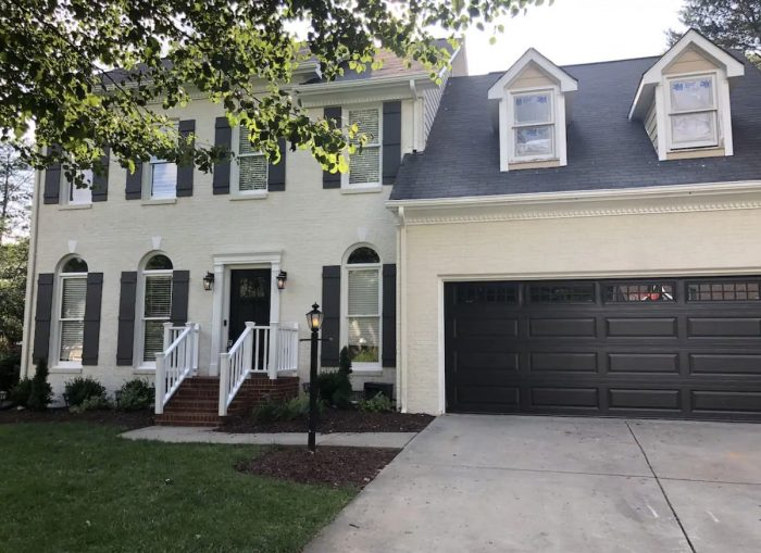 Great Winston-Salem vacation rental with beautiful covered porch and backyard