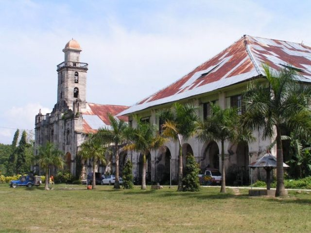 Santa Monica Parish Church, Alburquerque, Bohol by Pinay06 via Wikipedia CC