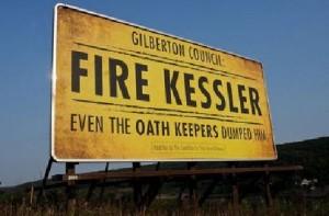 fire Kessler sign