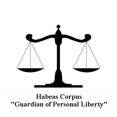 habeaus corpas Habeas corpus a writ of habeas corpus, is a legal instrument used to bring a prisoner before the court to determine if the person's imprisonment by ice is lawful.