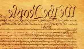 Constitution reversed