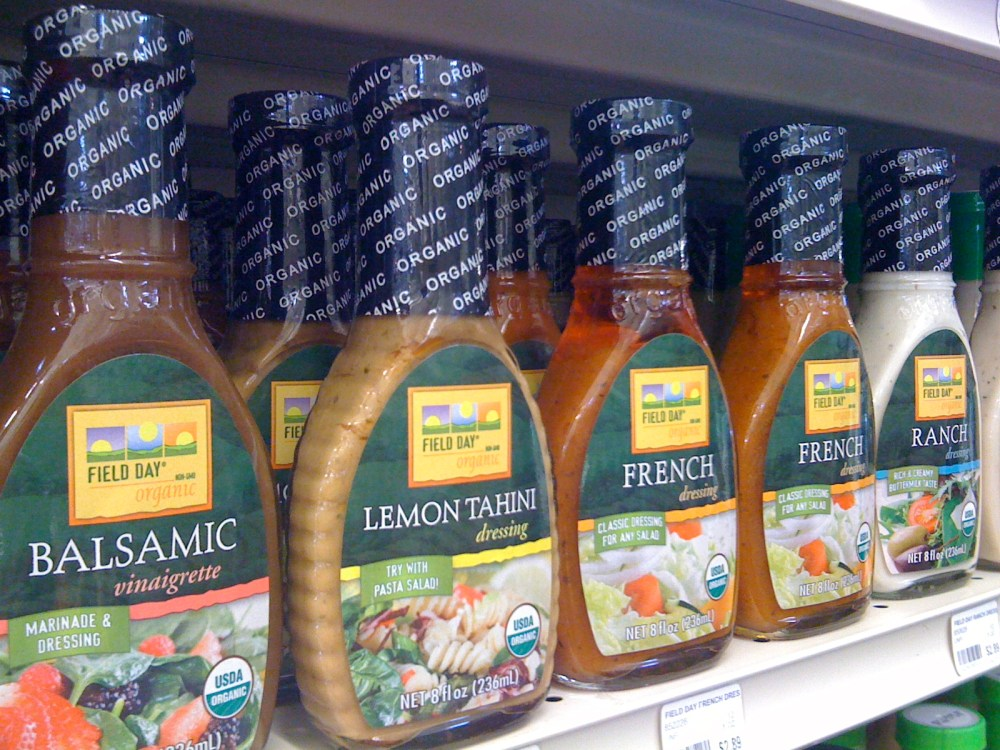 Cost Comparison Number Two – Salad Dressing