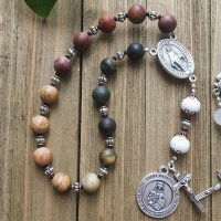 Chaplet for Mental Health of Saint Dymphna - Natural