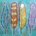 Costureiras de fantasias: A Pena Azul