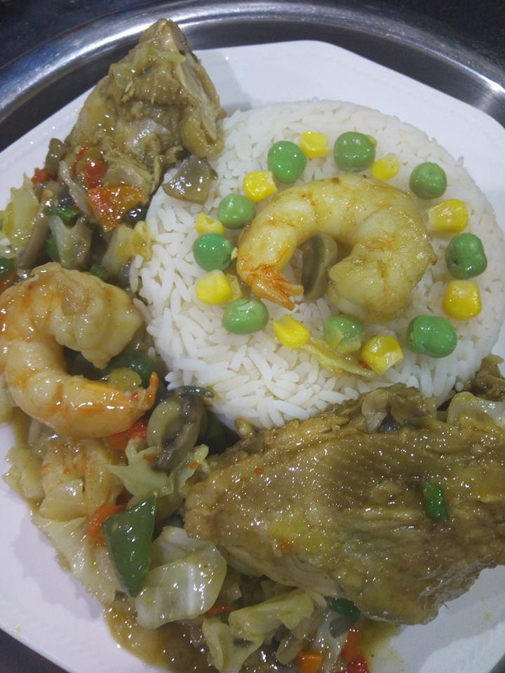 Igboist Kitchen, Sunday Edition. ''White Rice and Stew''