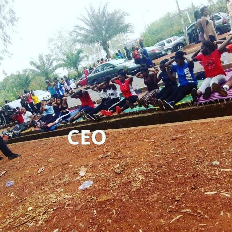 Saturday Morning at Michael Okpara Square Enugu