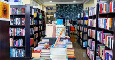 Spine and Label Bookstore Abuja