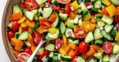 How To Make Chopped Vegetable Salad
