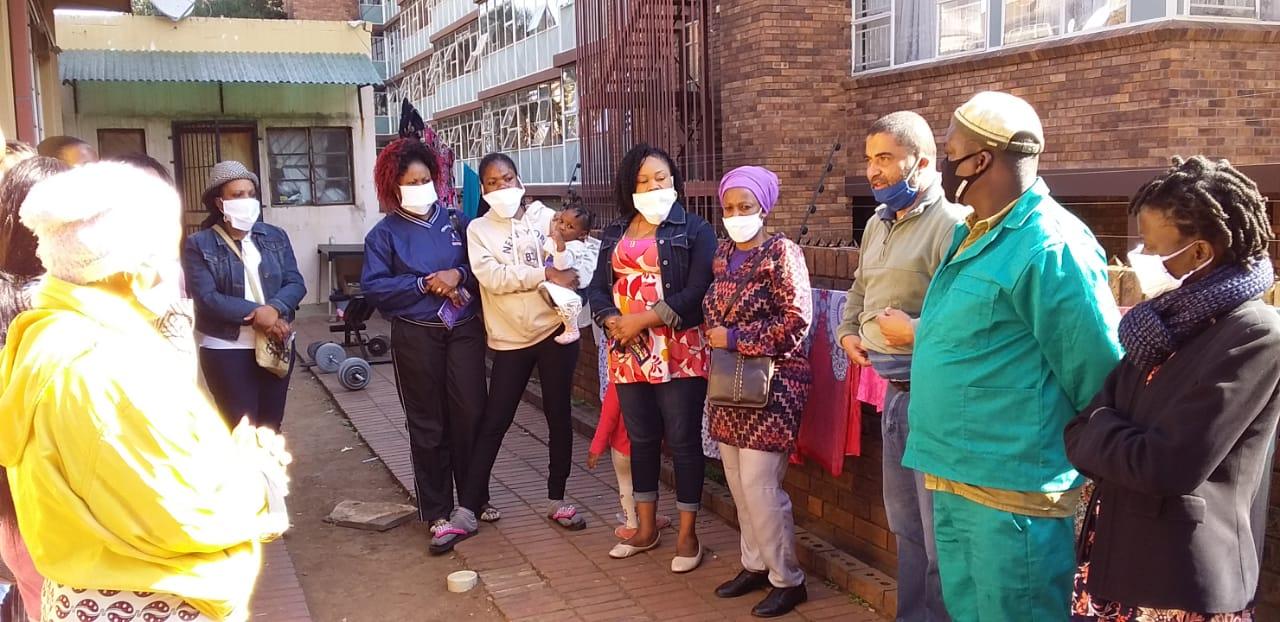 Outreach Foundation distributes masks at its Pretoria Migrant Support Centre