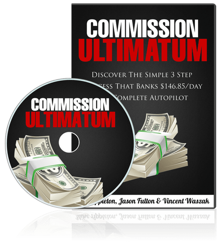 Commission Ultimatum By Jason Fulton