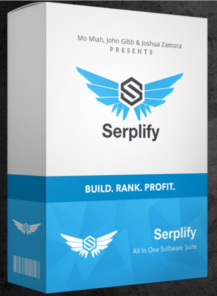 Serplify Software by John Gibb & Mo Miah Review - Best Cloud App Software That Mass Builds, Customizes, GEO-Optimizes, Monetizes, Schedules, and Builds You Fully Fledged Unique Sites That Rank Page One on Google With Just A Few Clicks