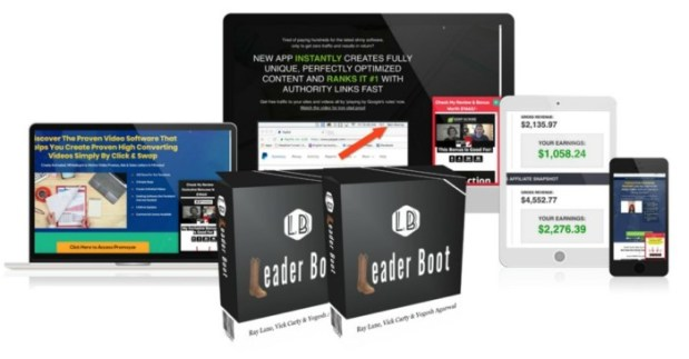 Leader Boot Software by Ray Lane