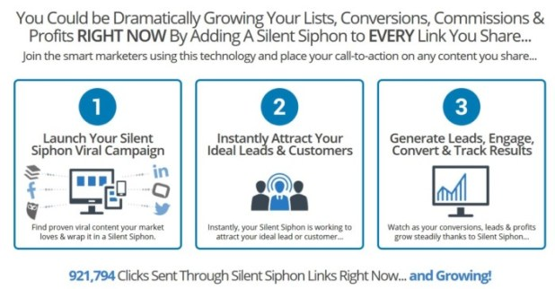 Silent Siphon Lead Generation Software by Sean Donahoe