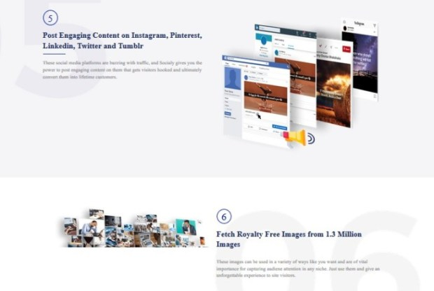 Socialy Visual Content Software by Misan Morrison