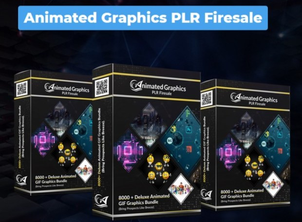 Animated Graphics PLR Firesale Package By Firelaunchers