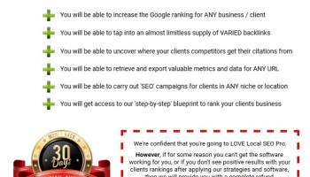 Local SEO Hunter | JVZOO RESEARCH