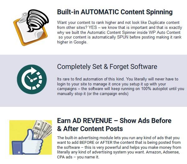 WP Auto Content PRO WordPress Plugin Software by Ankur Shukla