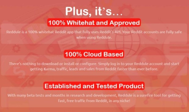 Reddule PRO Reddit Traffic & Leads Software | JVZOO RESEARCH