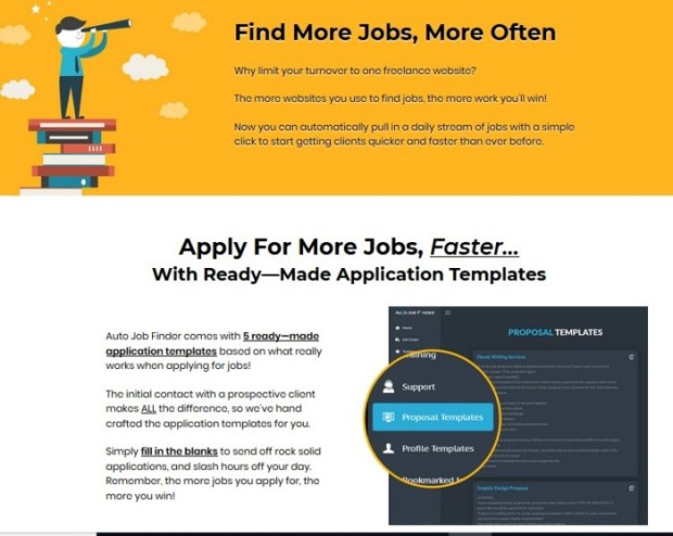 Sqribble Auto Job Finder Upgrade OTO Software by Adeel Chowdhry