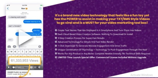 TXTVideo Text-Story Videos Software by Jamie Ohler