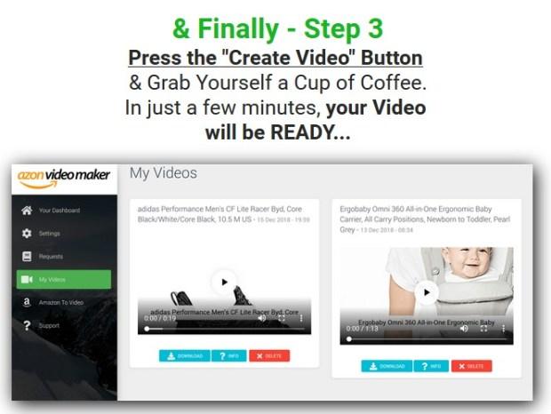 Azon Video Maker PRO Software & OTO Upsell by Ankur Shukla