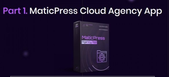 MaticPress Agency Software Suite & Training And OTO Upsell by Ben Murray