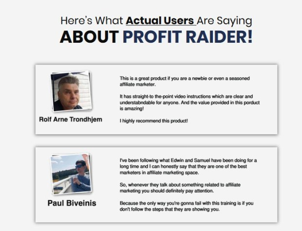 Profit Raider by Samuel Cheema