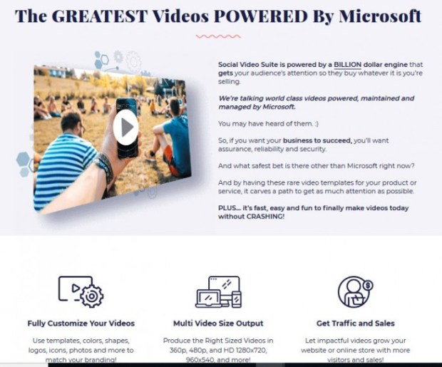 SocialVideo Suite PRO OTO Upsell Software | JVZOO RESEARCH