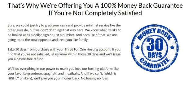 Three For One Hosting Unlimited Package by Richard Madison