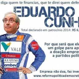 Deputados entregam representação contra Eduardo Cunha