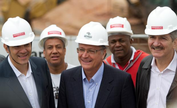 Aldo Rebelo e Geraldo Alckmin assinam plano sobre água em São Paulo