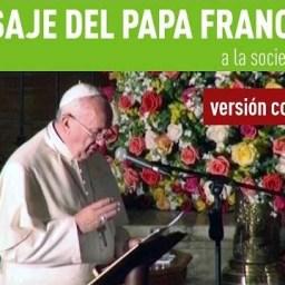 Íntegra da mensagem do papa no Equador